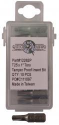 Torx Tamper Proof Drive Bits