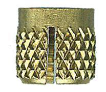 Brass Insert for Corian Sink Clip Hardware